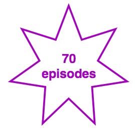 70 episodes